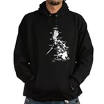 Philippines Rough Map Hoodie (dark)
