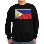 Philippine Flag Sweatshirt (dark)