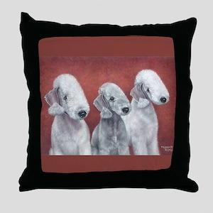 Bedlingtons Three Throw Pillow