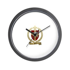 PETIT Family Crest Wall Clock