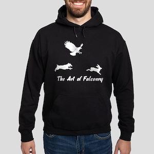 JRT and Falconry Hoodie (dark)