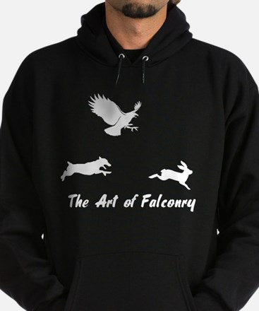 JRT and Falconry Hoodie (dark)