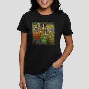 Fun Vintage Woman Taurus T-Shirt
