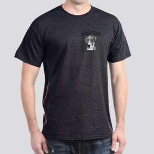 Great Dane Dad MerleB UC Dark T-Shirt
