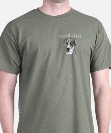 Great Dane Dad MerleB UC T-Shirt