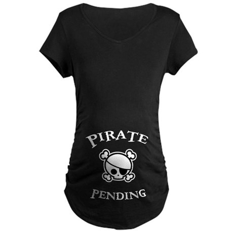 Pirate Pending Maternity Dark T-Shirt