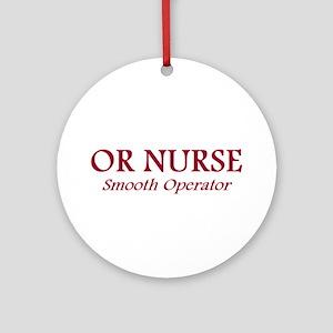OR Nurses Ornament (Round)