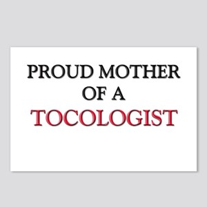Proud Mother Of A TOCOLOGIST Postcards (Package of