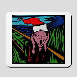 Christmas Scream Mousepad