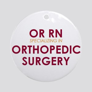 OR RN - Ortho Ornament (Round)