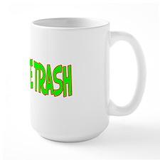 I Love-Alien White Trash Large Mug