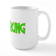 I Love-Alien Piercing Large Mug