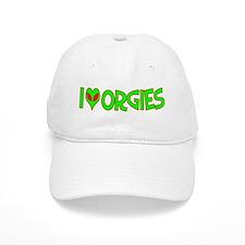 I Love-Alien Orgies Cap