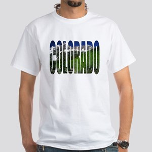 Colorado Mountains - White T-Shirt