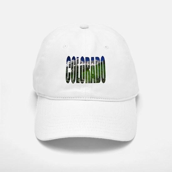 Colorado Mountains - Baseball Baseball Cap