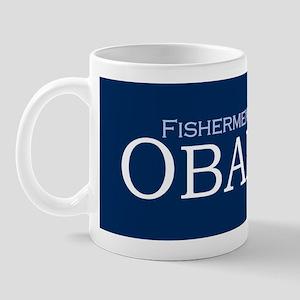 Fishermen For Obama '08 Coffee Mug