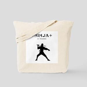 Ninja In Training Tote Bag