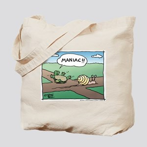 Maniac! Tote Bag