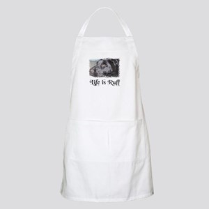 BLACK LAB LIFE IS RUFF BBQ Apron