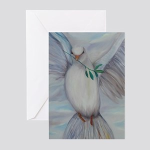 White Dove of Peace Greeting Cards (Pk of 20)