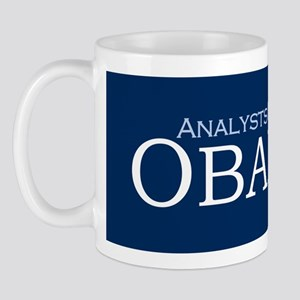 Analysts For Obama '08 Coffee Mug