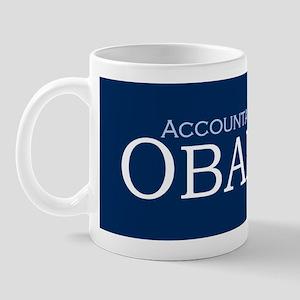 Accountants For Obama '08 Coffee Mug