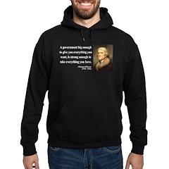 Thomas Jefferson 1 Hoodie (dark)