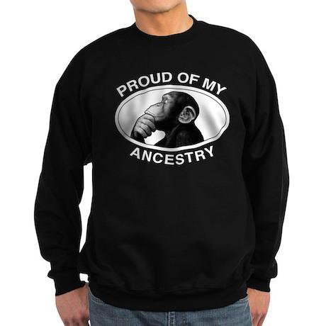Proud of my Ancestry Chimp Sweatshirt (dark)