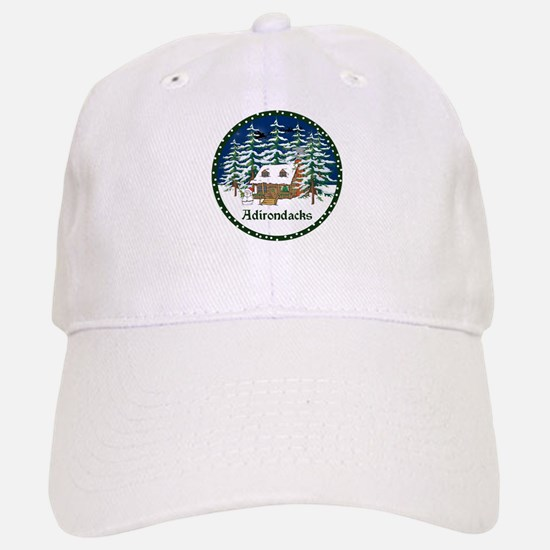 An Adirondack Christmas Baseball Baseball Cap