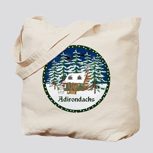 An Adirondack Christmas Tote Bag
