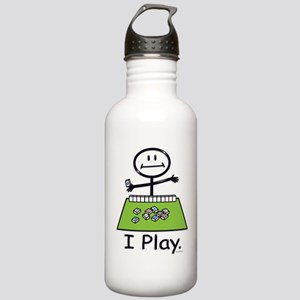 Mahjong Stick Figure Stainless Water Bottle 1.0L