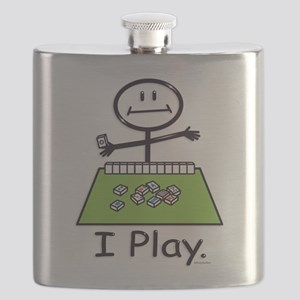Mahjong Stick Figure Flask