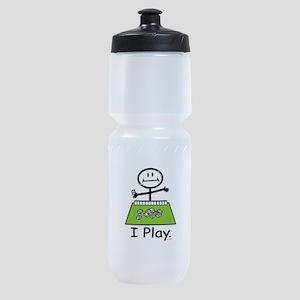 Mahjong Stick Figure Sports Bottle