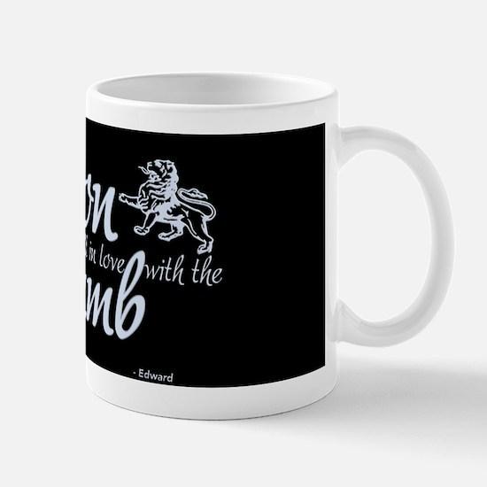 Lion and Lamb (Blue) Mug