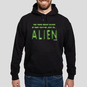 Aliens Hoodie (dark)