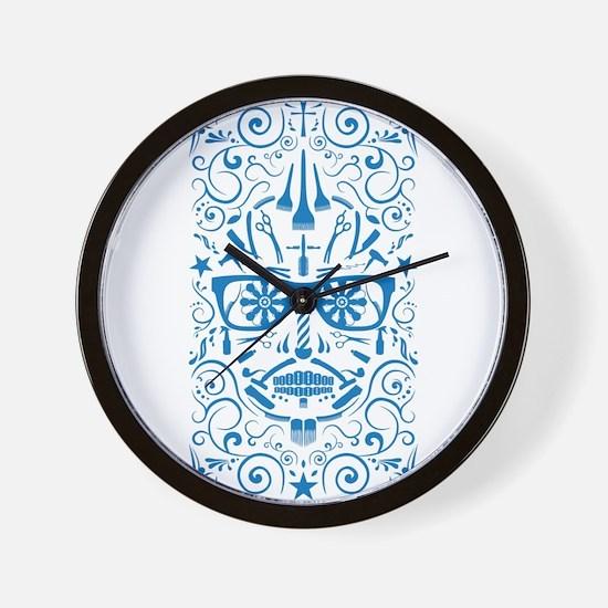 barber boi Wall Clock