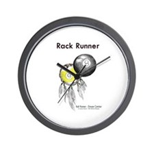 Rack Runner Wall Clock