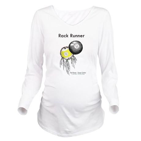 Rack Runner Billiard Dreamcatcher Maternity Long Sleeve T-Shirt
