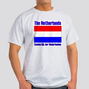The Netherlands koninkrijk de Ash Grey T-Shirt