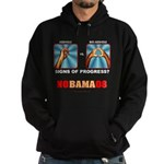 Obama Big Asshole Hoodie (dark)