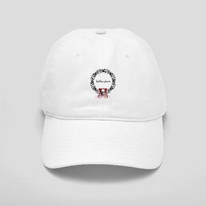 Holiday Gloom Skull Wreath Cap