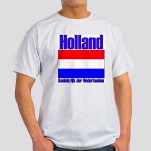 Holland Koninkrijk der Nederl Ash Grey T-Shirt
