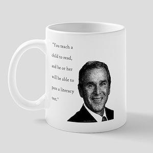 Bushish Stupid Quote Mug