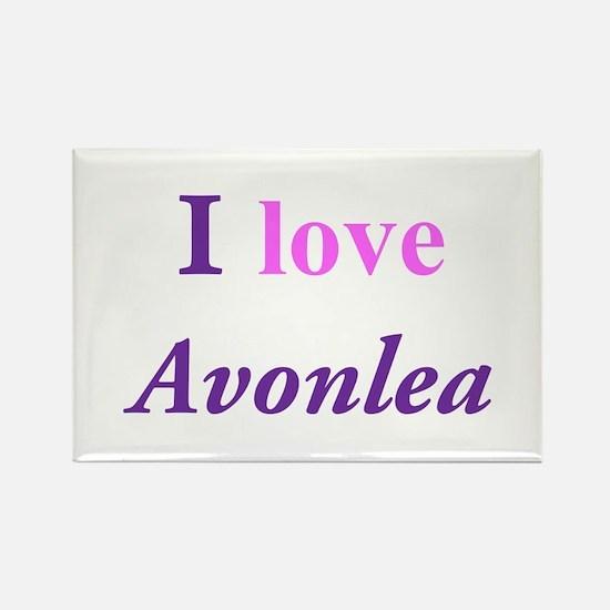 I love Avonlea Rectangle Magnet