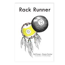 Rack Runner Postcards (Package of 8)