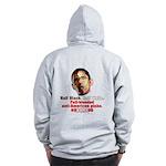Full-blooded Pinko anti-Obama Zip Hoodie