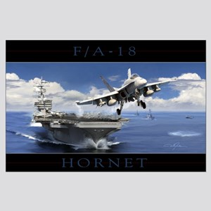 F/A-18 Hornet Large Poster