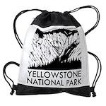 Yellowstone National Park Drawstring Bag