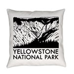 Yellowstone National Park Everyday Pillow