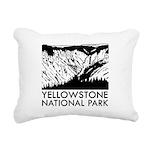 Yellowstone National Park Rectangular Canvas Pillo